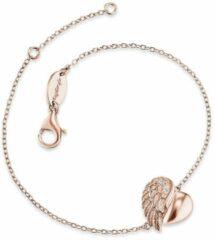 Goudkleurige Engelsrufer - Armband - Gold Plated Sterling Zilver