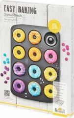 Antraciet-grijze Birkmann Easy Baking Mini Donut bakvorm 26 x 37 cm