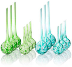 Clever Bewässerungskugeln, 12-teiliges Set - Grün
