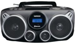 Lenco SCD-100BK UKW CD-Radio AUX, Bluetooth schwarz