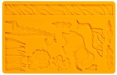 Oranje Wilton Jungle Mold voor fondant