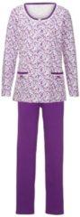 Schlafanzug Harmony fuchsia/weiss/lila