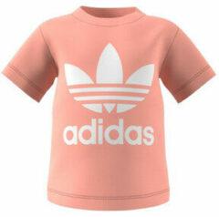 Adidas Originals Adicolor T-shirt lichtroze/wit