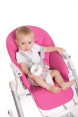 Roze Bo Jungle Kinderstoel B-High Chair Pink