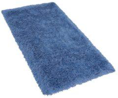 Blauwe Beliani Cide Vloerkleed Polyester 80 X 150 Cm