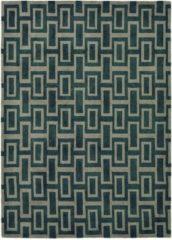 Wedgwood - Intaglio Black 37205 Vloerkleed - 120x180 cm - Rechthoekig - Laagpolig Tapijt - Design - Taupe, Zwart