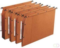 Hangmap Elba AVZ folio U-bodem 30mm oranje