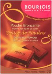 Bruine Bourjois Delice De Poudre Bronzer - 52 Peaux Mates/Halées