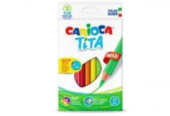 Pastelli Tita Maxi 12 pezzi Carioca