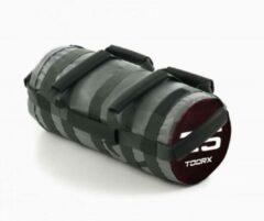 Zwarte Toorx Powerbag met 6 Hendels - 25 kg