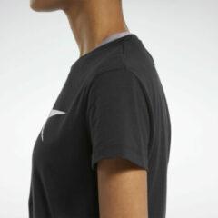 Zwarte Reebok Training Essentials Vector Graphic T-shirt