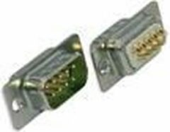 Intronics D-sub soldeer connector, male - [SCP09M]