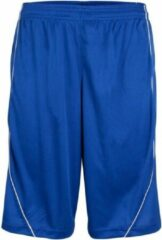 Burned Enkelzijdig Short Blauw 3XL