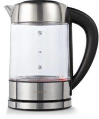Zilveren Blokker waterkoker digitaal BL-10002 - Glas - 1,7 liter