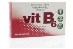 Soria Natural Soria Vitamine B6 Retard 1.4 Mg (48tb)
