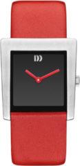 Zilveren Danish Design watches edelstalen dameshorloge Broen Red IV24Q1257