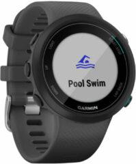 Garmin Swim 2 GPS-zwemhorloge leigrijs/zilver