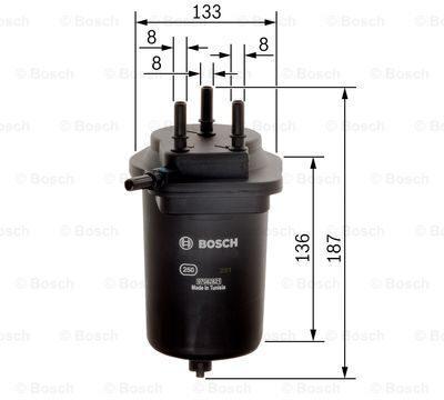 Afbeelding van N2098 filtre diesel renault