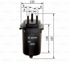 N2098 filtre diesel renault