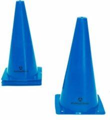 #DoYourFitness® - Markeerpionen / Pylonen - Markering voor coördinatie / behendigheidstraining - Grootte van kegels 30cm - 3x Large (blauw)