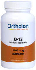 Ortholon Vitamine B12 methylcobalamine 1000 mcg 60 Zuigtabletten