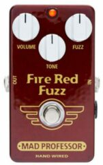 Mad Professor Fire Red Fuzz Handwired effectpedaal