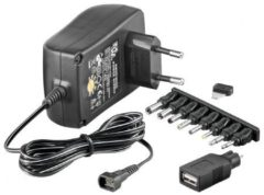 Quality4All 3-12 V Universal-Netzteil<br>inklusive USB + 8 DC Adapter - max.
