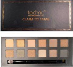 Beige Technic Oogschaduw Palette - Claim To Fame