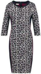 Kleid mit Leodessin Gerry Weber Kitt-Indigo gemustert