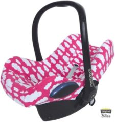 Wallabiezzz Bliss - Maxi-Cosi Hoes voor Cabriofix Pebble Citi - Wolk roze
