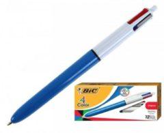 Bic 4 Colori 12 Penne