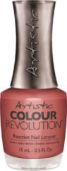 Koraalrode Artistic Nail Design Colour Revolution 'Too Much Sauce'