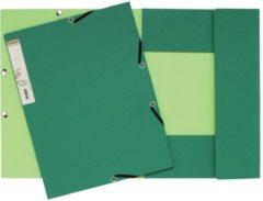 Exacompta Gerecyclede 3-flap map Forever® A4+ Donkergroen lichtgroen Recyclingkarton
