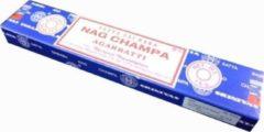 Bruine Satya Nag Champa Nag champa wierook 15 grams los pakje ! (SATYA) SAI BABA