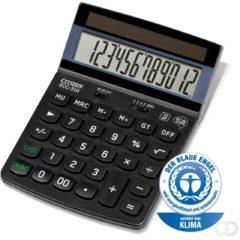 Bureaurekenmachine Citizen Office ECC-310 Zwart Aantal displayposities: 12 werkt op zonne-energie (b x h x d) 107 x 34 x 173 mm