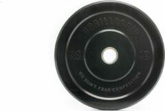 Zwarte Gorillagrip - Bumper plate 10 kg