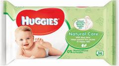 Huggies Billendoekjes Babydoekjes Natural Care Bestekoop - 56 Stuks