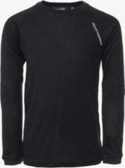 Mountain Peak kinder thermo shirt - Zwart - Maat 134/140