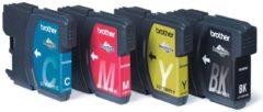 Brother LC-1100HYVALBP inktcartridge Original Zwart, Cyaan, Magenta, Geel Multipack 4 stuk(s)