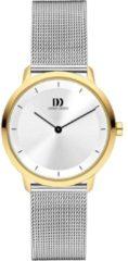 Gouden Danish Design watches edelstalen dameshorloge Anholt Two-Tone Medium Mesh IV65Q1258