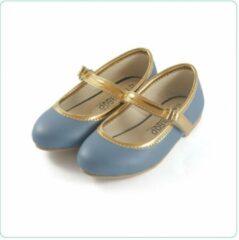 Tamago shoes Kinderschoenen Meisje Ballet Model Nicole Mt 25 (2-3 jaar) Lichtblauw