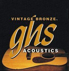 GHS VN-12CL Vintage Bronze snarenset voor akoestische gitaar