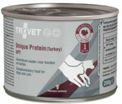 TROVET Unique Protein UPT (Turkey) - 6 x 200 g
