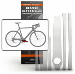 Transparante Bike Shield Bikeshield frambescherming Crank shield glossy