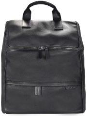 Garret Rucksack Leder 45 cm Laptopfach Strellson black