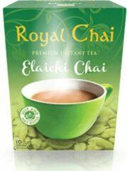 Royal Chai Royalchai Cardamom, gezoet. Per 4 doosjes (a 10 sachets) totaal 40 kopjes!