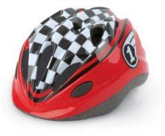 Rode Polisport Fietshelm Race Kind Rood Zwart Maat 48/52 Cm
