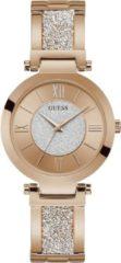 Goudkleurige GUESS Aurora horloge W1288L3