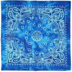 Attitude Holland Bandana Shaded Retro Vintage Paisley Mondkapje Turquoise