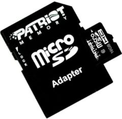 Patriot Speicherkarte microSDHC Card 16 GB Patriot Schwarz